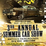 Antioch Fairgrounds - 3rd Annual Summer Car Show