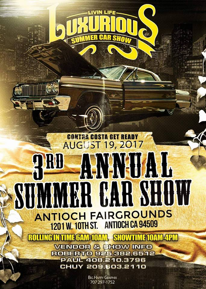 3rd Annual Summer Car Show Family Event Cars Hy Graphix
