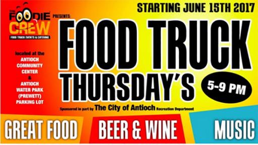 Antioch Food Truck Event