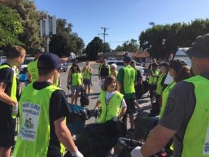We Care Neighborhood Clean up