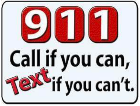 Send text to Antioch Police 911
