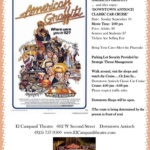 El Campanil Theatre Classic Film Showcase: American Graffiti