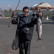 fishing at Antioch Marina