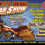 Lumpy's Diner: 9th Annual Burger Eating Contest & Car Show