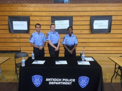 Antioch Police Dept Career Fair AHS