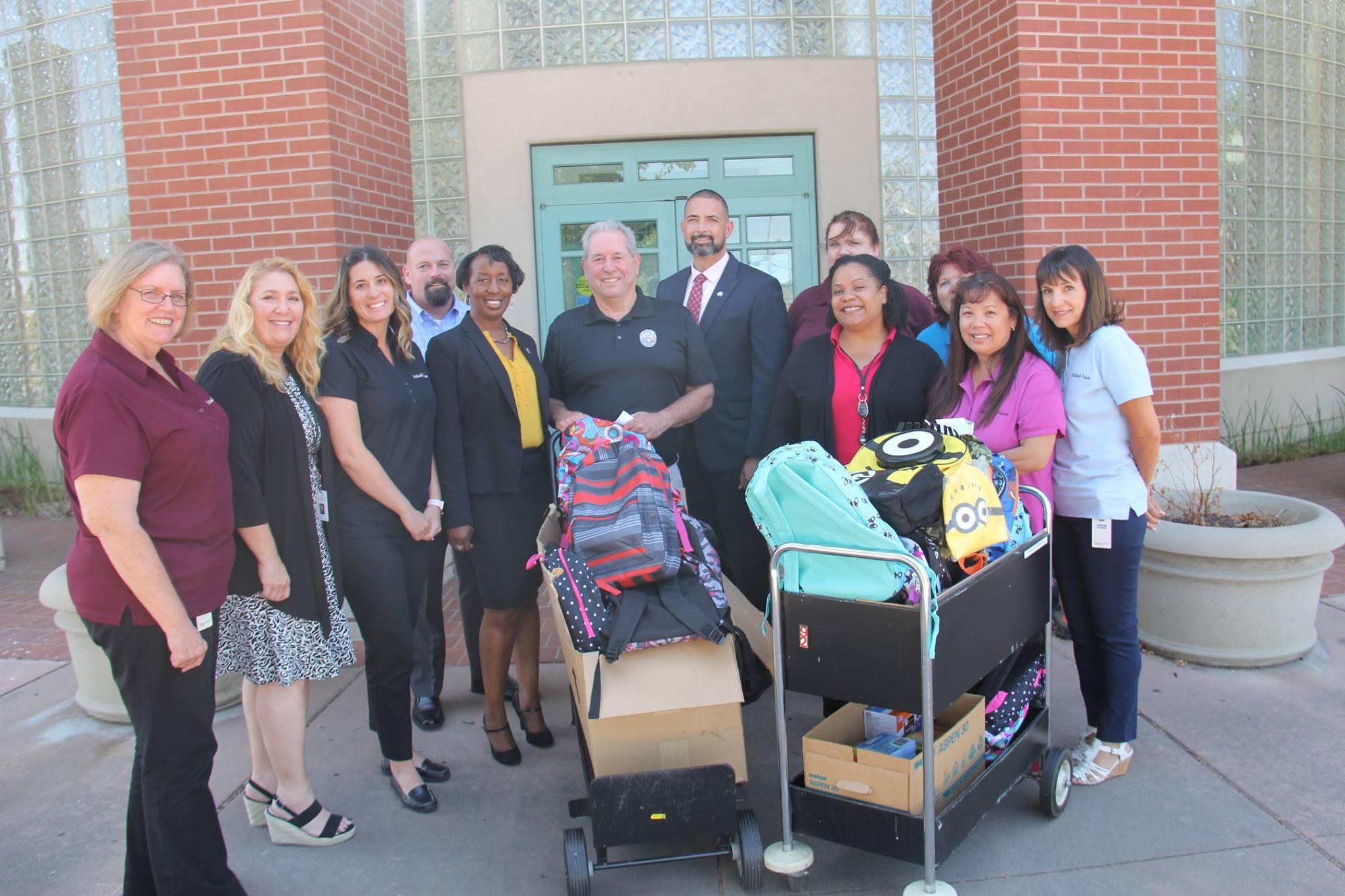 Antioch Police back to school collection