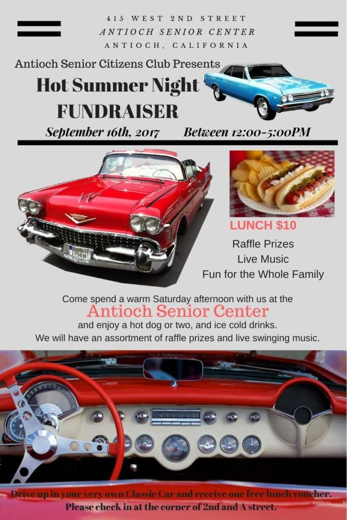 Antioch Senior Citizens Club Hot Summer Night Fundraiser