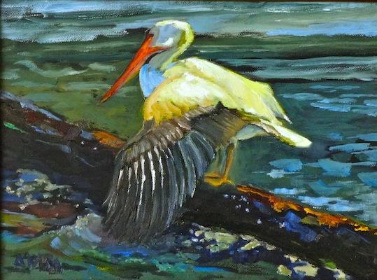Lynn House Gallery-AnnMarie McGill Pelicano