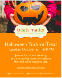 Treats matter at Somersville Towne Center