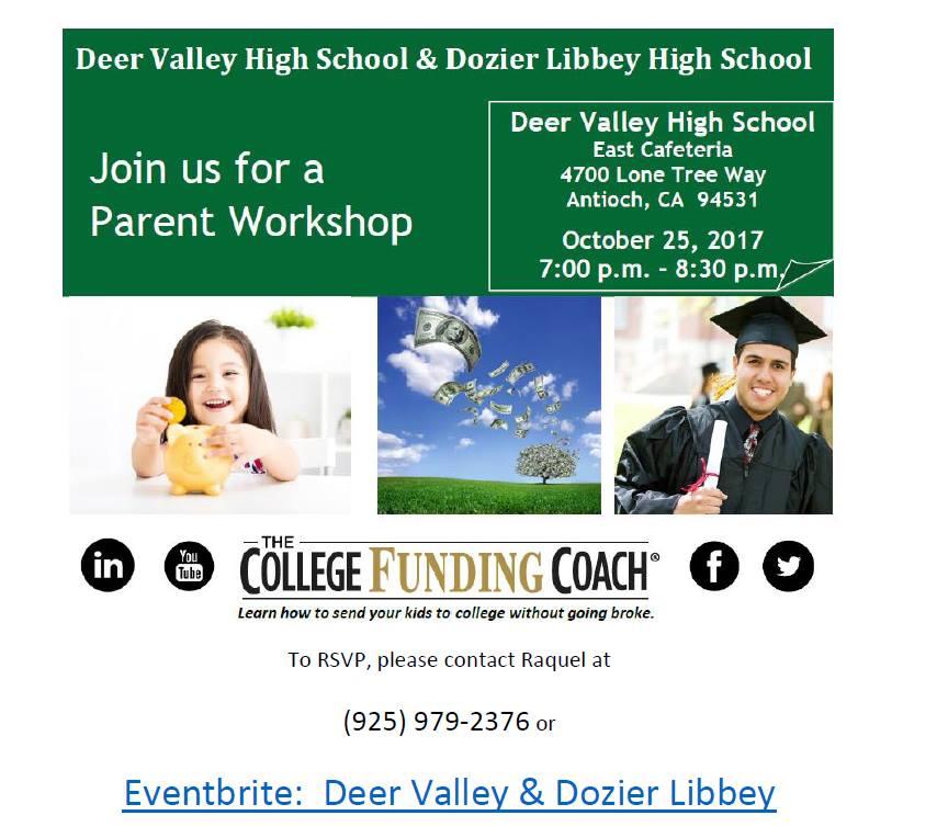 deer valley college funding coach