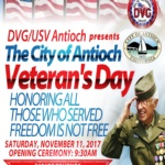 Antioch Veteran's Day Celebration
