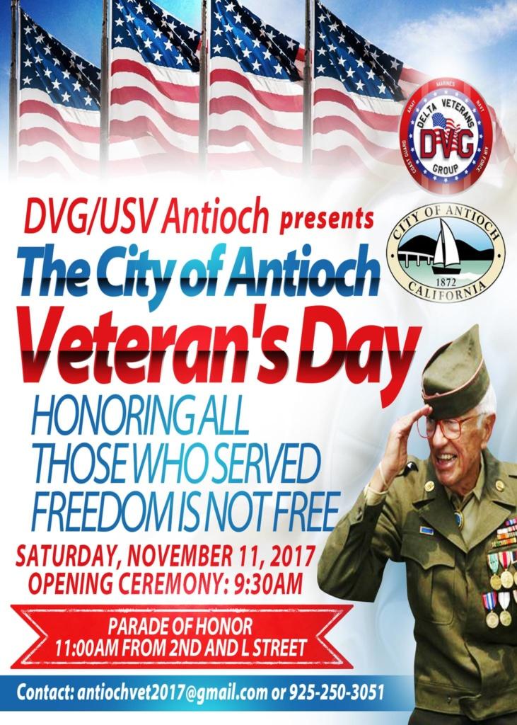 Antioch Veteran's Day Celebration