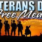 Veteran's Day Free Meal at Lumpy's Diner