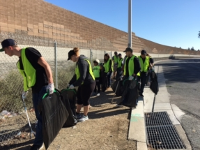 WE Care Community Clean up hosted by Antioch Police Department