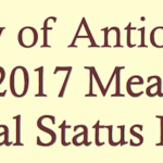 City of Antioch's 2016-2017 Measure C Annual Status Report