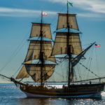 Antioch Marina Welcomes an Unplanned Visit from Tall Ship Lady Washington
