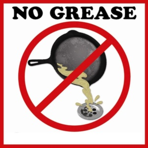 FOG no grease