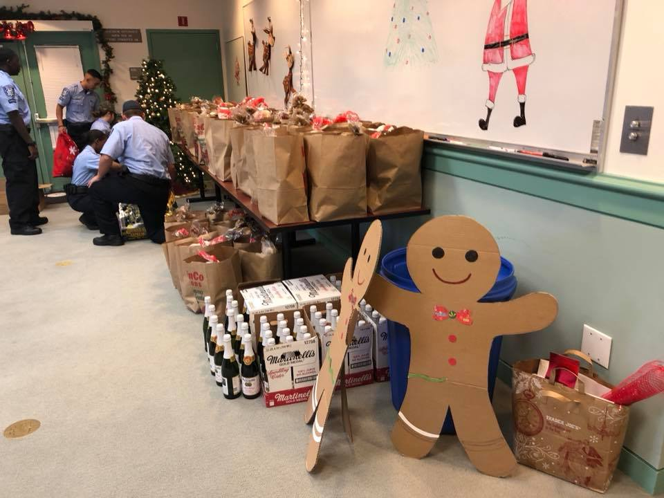 Antioch PD Annual Holiday Drive