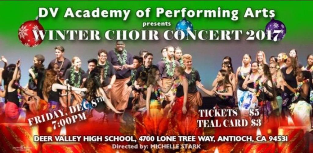 DV Winter Choir Concert