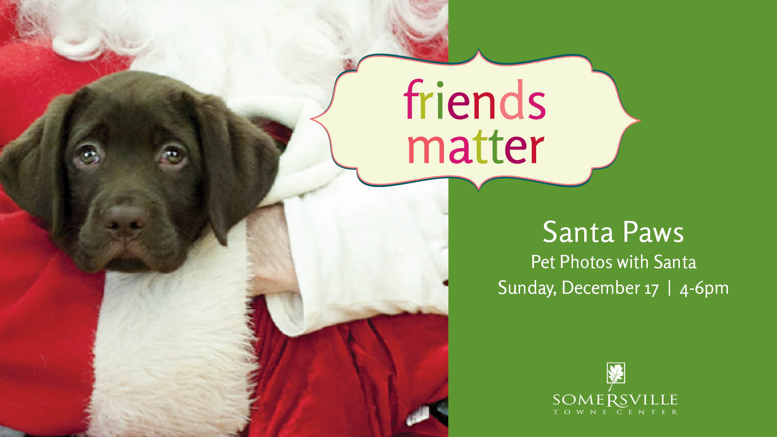 Santa Paws at Somersville Towne Center