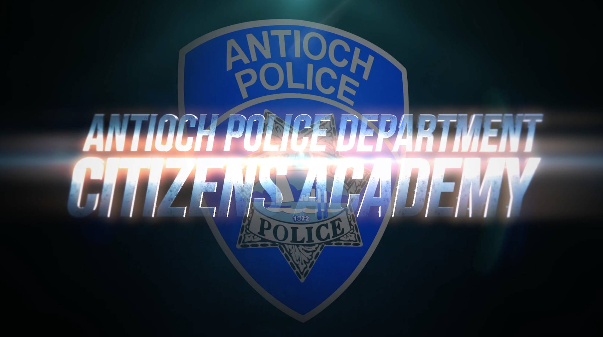 Antioch Police Department Citizens Academy