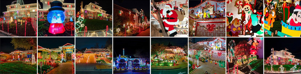 Antioch's Over The Top Holiday Spirit House Decoration Photos