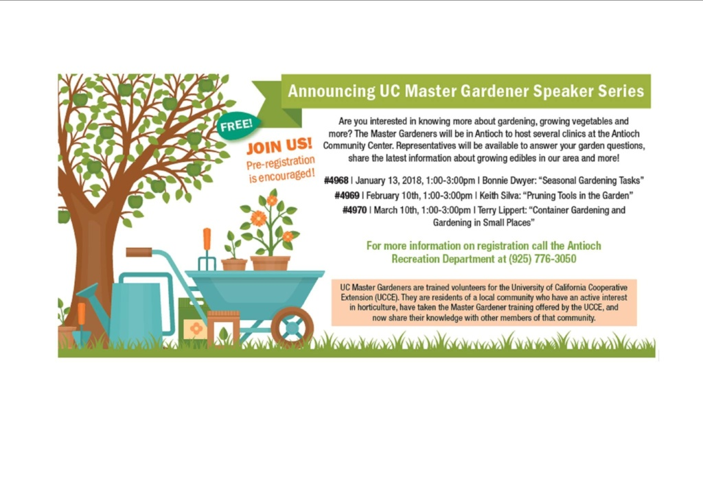 Master Gardener's Workshop