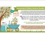 Free Master Gardener's Workshop