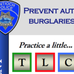 Practice a little TLC to Prevent Auto Burglaries