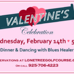 Valentine's Dinner and Dancing at the Lone Tree Golf Course & Event Center