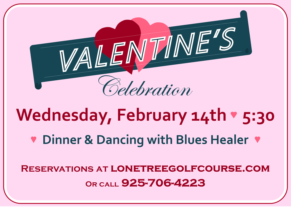Valentine at the Lone Tree Golf Course & Event Center