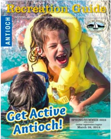 Antioch Recreation Guide