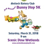 3rd Antioch Rotary Club Bunny Hop 5K