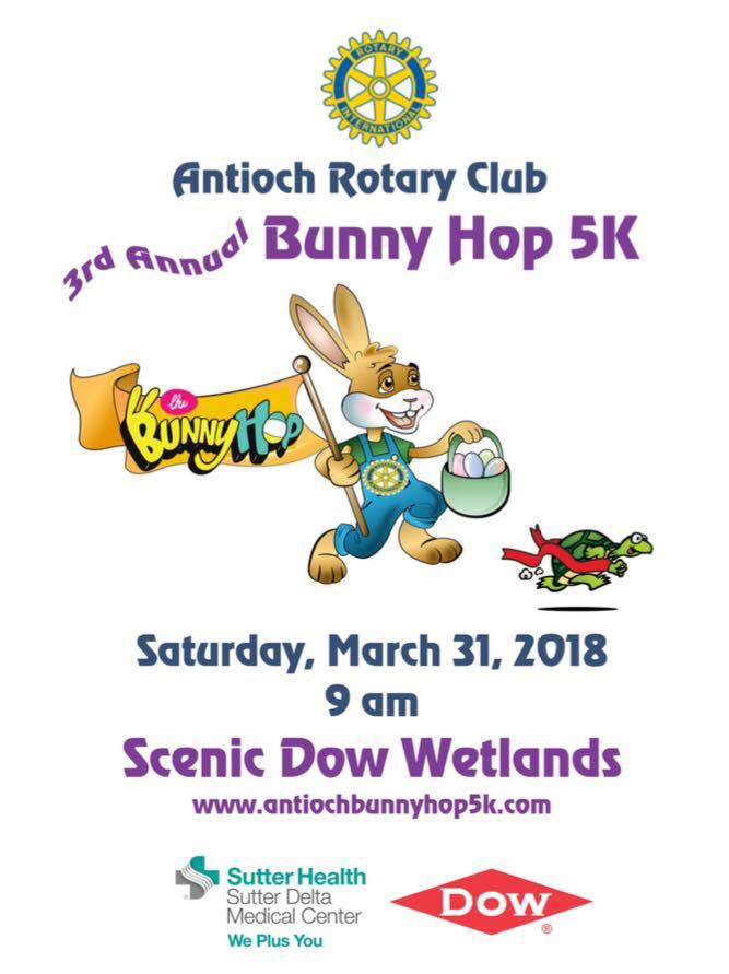 Antioch Rotary Club Bunny Hop