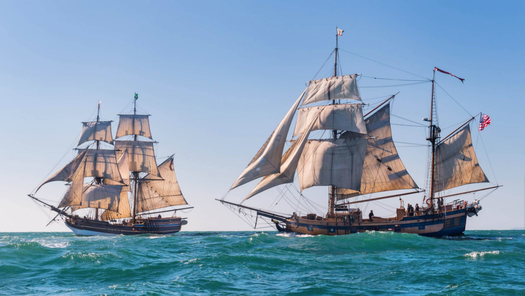 Lady Washington Hawaiian Chieftain
