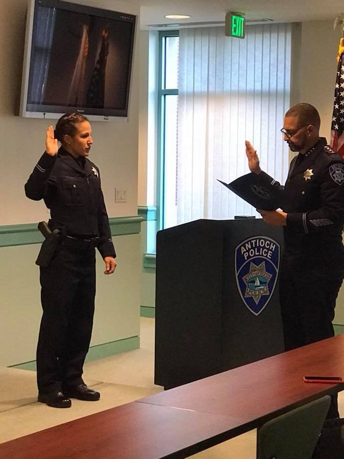Antioch Police Department - Officer Brittney Blanco