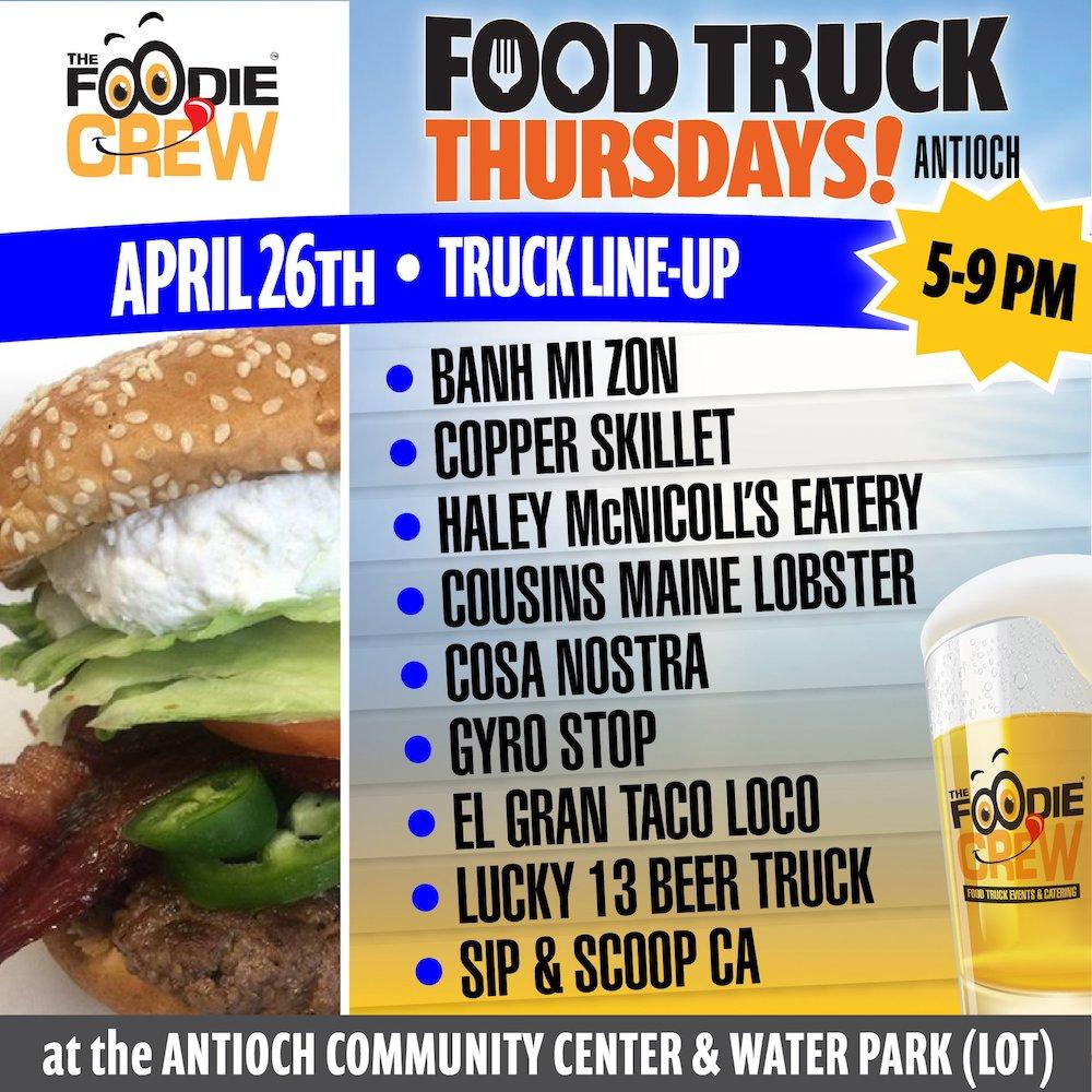 Antioch Food Truck Thursdays