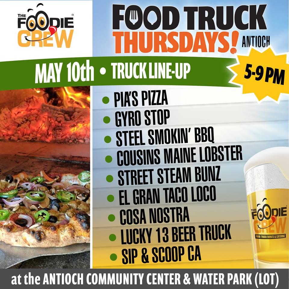 Foodie Crew Food Truck May 10