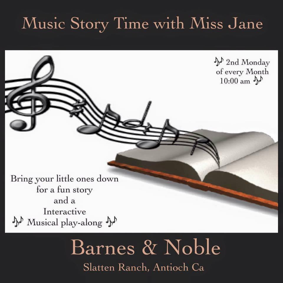 Music Story time with Ms. Jane Barnes And Noble