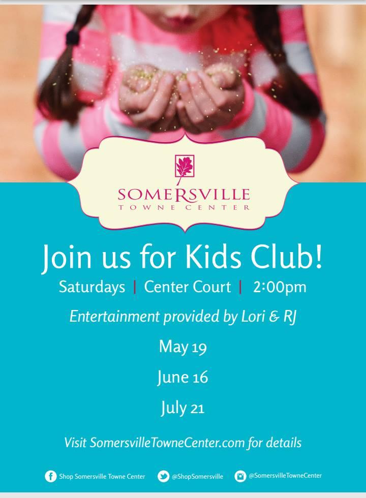 Somersville Town Center Kids Club