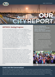 Antioch 3rd edition city report