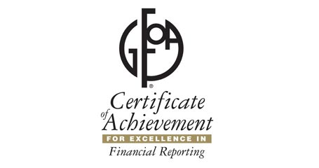Antioch Certificate of Achievement for Excellence in Financial Reporting