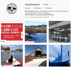 City of Antioch Instagram