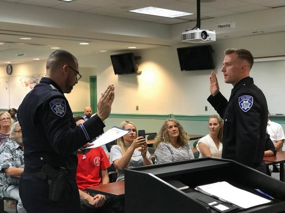 Antioch Police Department New Hire