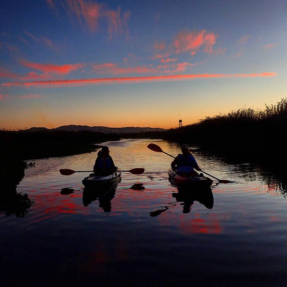 Delta Kayak Adventures Sunset Paddle