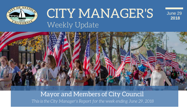 New City Mangers Weekly Update