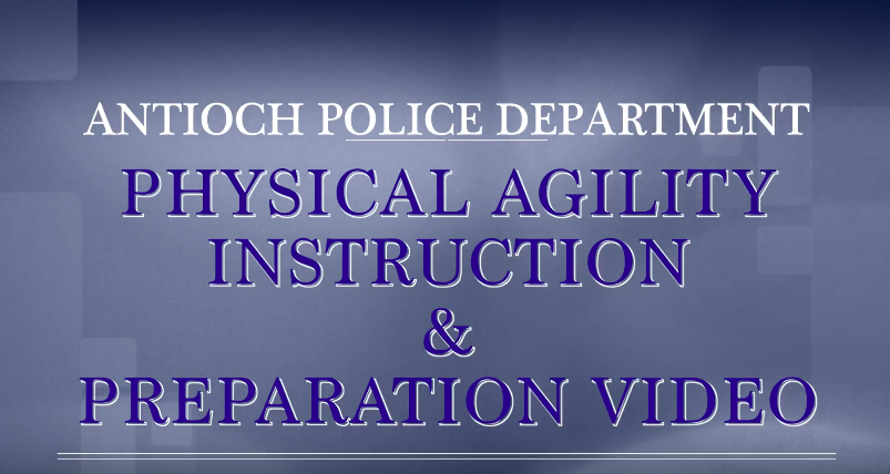 Antioch Police Physical Agility