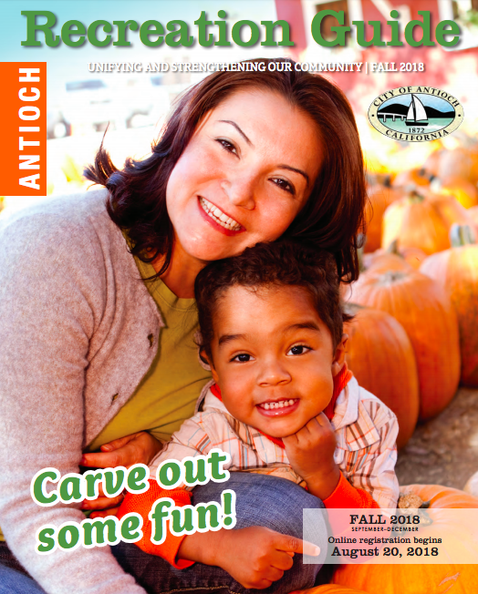 Antioch Recreation Fall Guide