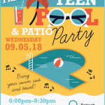 Free Teen Pool & Patio Party