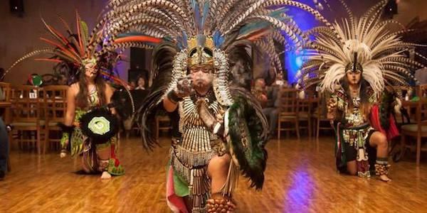 Antioch Library Teokalli Aztec Dance Performance